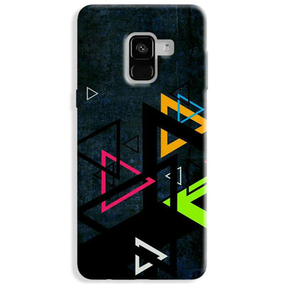 Triangular Pattern Samsung Galaxy A8 Plus Case
