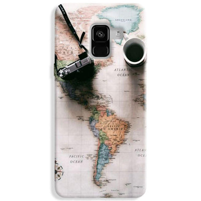 Coffee And Travel Samsung Galaxy A8 Plus Case