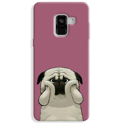Chubby Puggy Samsung Galaxy A8 Plus Case