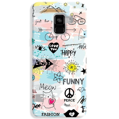 Good Vibes Samsung Galaxy A8 Plus Case