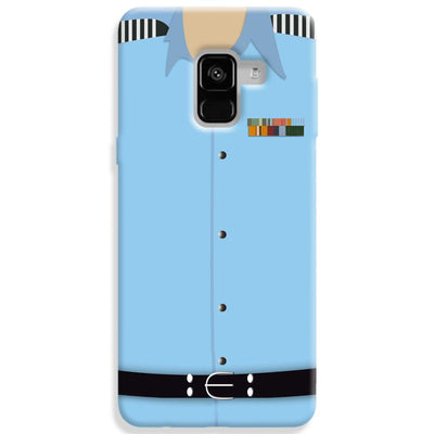 Air Force Uniform Samsung Galaxy A8 Plus Case