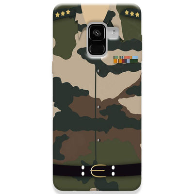 Army Uniform Samsung Galaxy A8 Plus Case