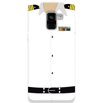 Merchant Navy Uniform Samsung Galaxy A8 Plus Case