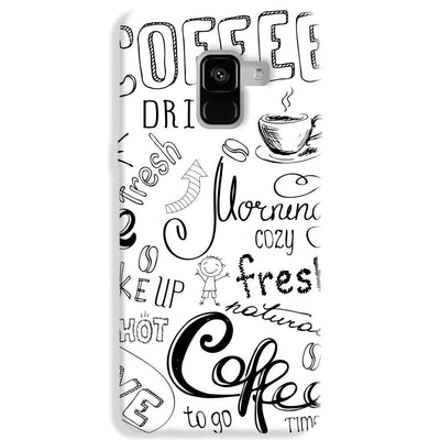 Coffee Lover Samsung Galaxy A8 Plus Case