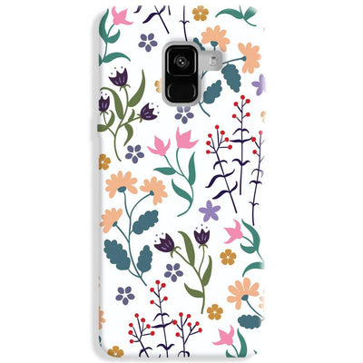 Floral Seamless Pattern Samsung Galaxy A8 Plus Case