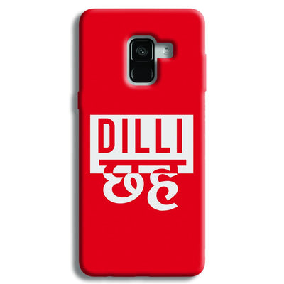 Dilli 6 Samsung Galaxy A8 Plus Case