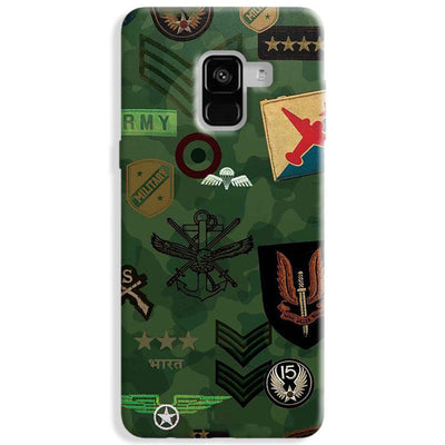 Indian Army Samsung Galaxy A8 Plus Case