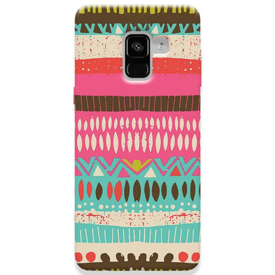 Color Pile Samsung Galaxy A8 Plus Case