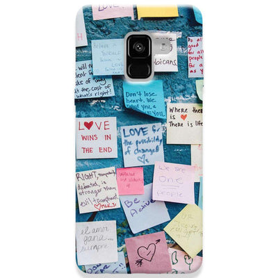 Love Note Samsung Galaxy A8 Plus Case
