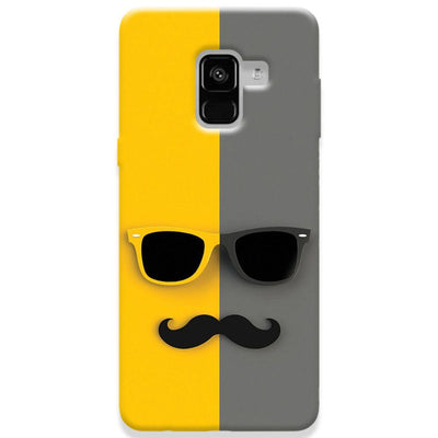Mr. Mustache Samsung Galaxy A8 Plus Case