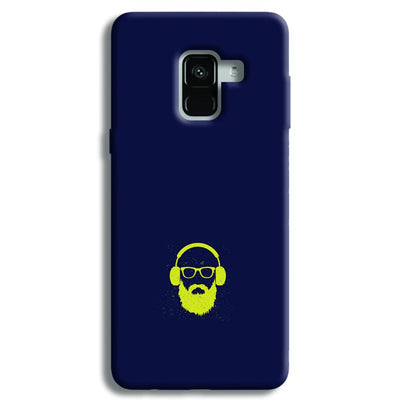 Bearded Man Samsung Galaxy A8 Plus Case