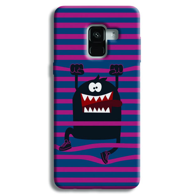 Laughing Monster Samsung Galaxy A8 Plus Case