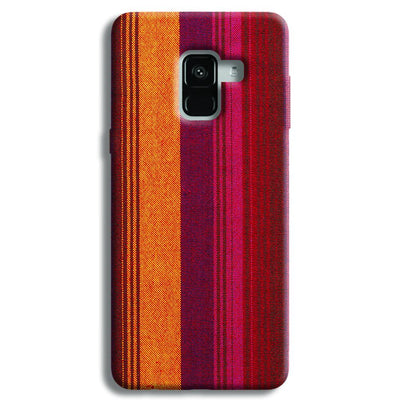 Bright Handloom Samsung Galaxy A8 Plus Case
