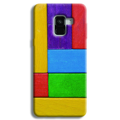 Color Block Samsung Galaxy A8 Plus Case