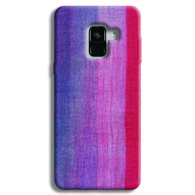 Multicolor Stripes Samsung Galaxy A8 Plus Case