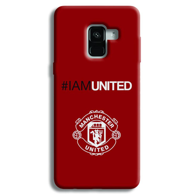I Am United Samsung Galaxy A8 Plus Case