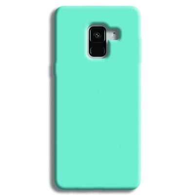 Aqua Blue Samsung Galaxy A8 Plus Case