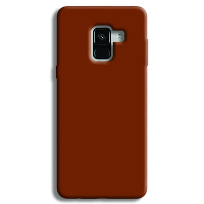 Brown Samsung Galaxy A8 Plus Case