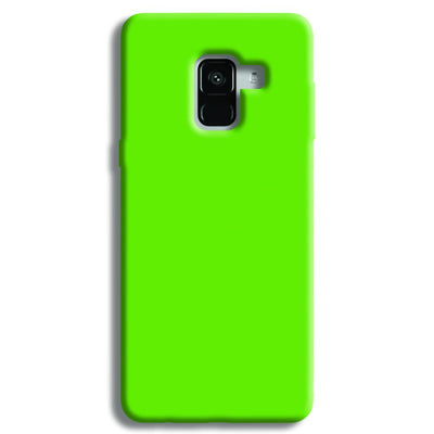 Light Green Samsung Galaxy A8 Plus Case