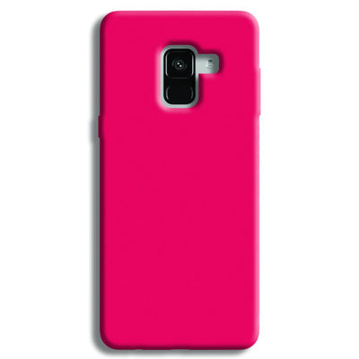 Hot Pink Samsung Galaxy A8 Plus Case