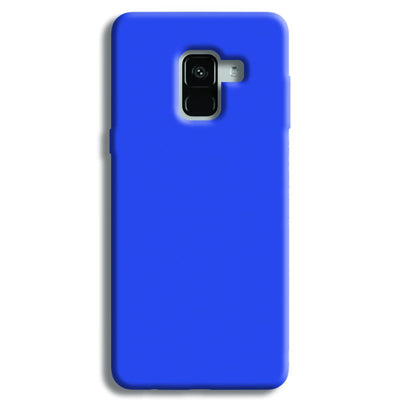 Cyan Samsung Galaxy A8 Plus Case