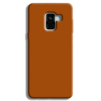 Light Brown Samsung Galaxy A8 Plus Case