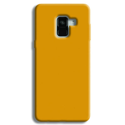 Yellow Ochre Samsung Galaxy A8 Plus Case