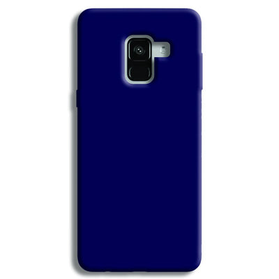 Navy Blue Samsung Galaxy A8 Plus Case