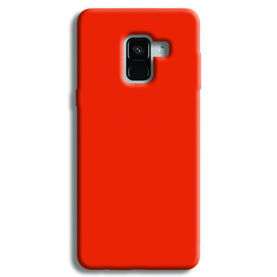 Orange Samsung Galaxy A8 Plus Case