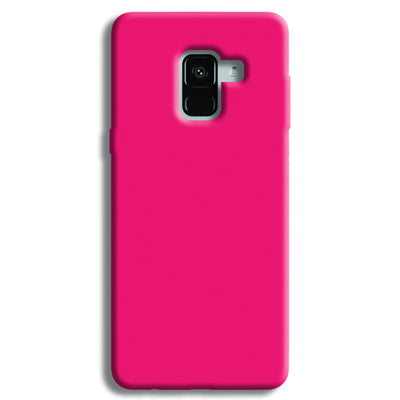 Light Pink Samsung Galaxy A8 Plus Case