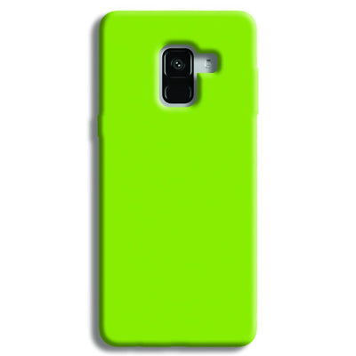 Sap Green Samsung Galaxy A8 Plus Case