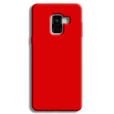 Light Red Samsung Galaxy A8 Plus Case