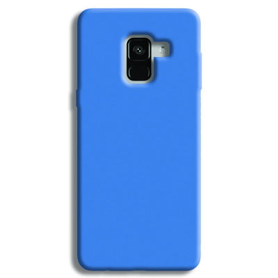 Sky Blue Samsung Galaxy A8 Plus Case