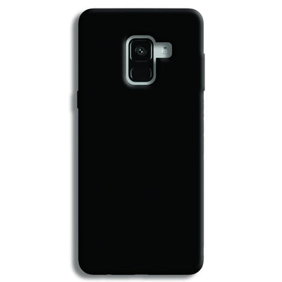 Black Samsung Galaxy A8 Plus Case