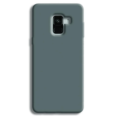 Medium Grey Samsung Galaxy A8 Plus Case