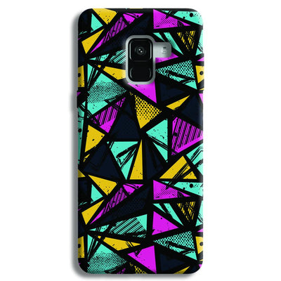 Abstract Samsung Galaxy A8 Plus Case