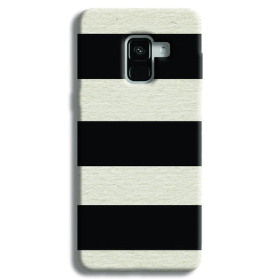 Black & White  Samsung Galaxy A8 Plus Case