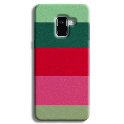 Colored Strips Samsung Galaxy A8 Plus Case