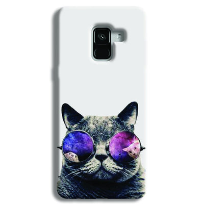Cool Cat Samsung Galaxy A8 Plus Case