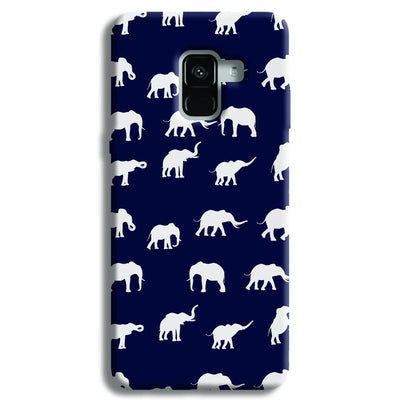 Elephant Pattern Samsung Galaxy A8 Plus Case