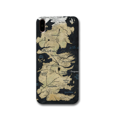 Game of Thrones Map Apple iPhone X Case