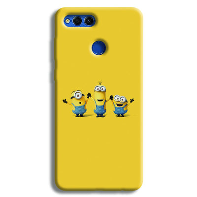 Three Minions Honor 7X Case