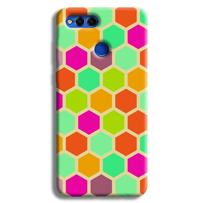 Hexagon Color Pattern Honor 7X Case