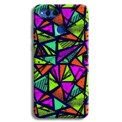 Geometric Color Pattern Honor 7X Case