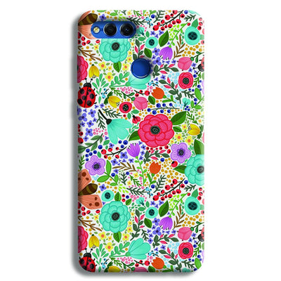 Floral Pattern Honor 7X Case