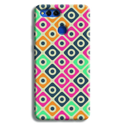 Shapes Pattern Honor 7X Case