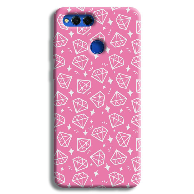 Diomonds Pattern Honor 7X Case