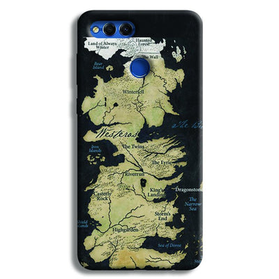 Game of Thrones Map Honor 7X Case