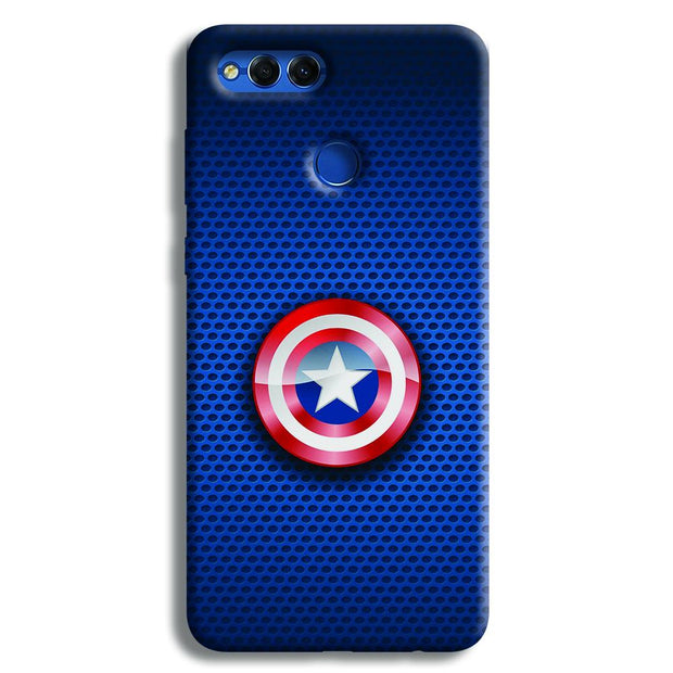 Captain America Logo Honor 7X Case