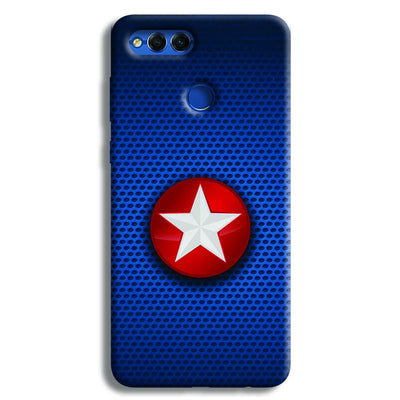 Captain America Side Star Honor 7X Case